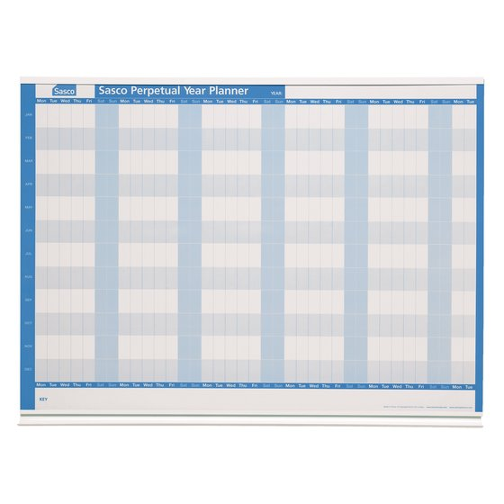 Sasco Perpetual Magnetic Year Planner