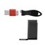 USB Port Blocker + Cable Guard - Horizontal