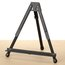 "Quartet® Tabletop Display Easel with Integrated Support Wings, 14"", Black"