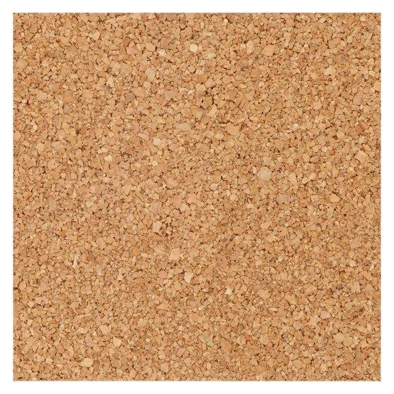"Natural Cork Tiles,  6"" x 6"", Frameless, Modular, 4 Pack"
