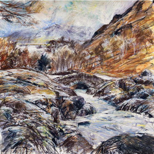 Ashness Bridge Mixed Media