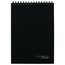 "Cambridge Limited Topbound Legal Ruled and Action Planner Business Notebook, 96 Sheets, 8 1/2"" x 11"", Black"