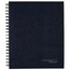 "Limited Hardcover Legal Ruled Business Notebook with Pocket, 96 Sheets, 8 1/2"" x 11"", Navy"