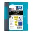 """Five Star Advance  Wirebound Notebook, 1 Subject, 7"""" x 5"""", College Ruled, Teal"""