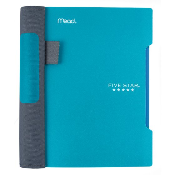 "Five Star Advance  Wirebound Notebook, 1 Subject, 7"" x 5"", College Ruled, Teal"