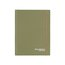 "Casebound Legal Ruled Notebook, 80 Sheets, 7 1/4"" x 9 3/8"", Green"