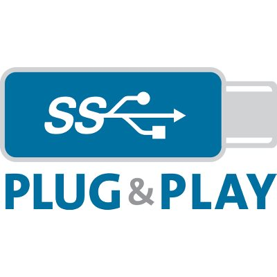 usb-c vga no download required plug and play