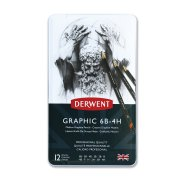 Graphic Medium Pencils 12 Tin