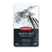 Graphic Soft Pencils 12 Tin