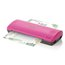 "Swingline Inspire Plus Thermal Pouch Laminator, 9"" Max Width, 4 Minute Warm-up, 3 Mil, Pink/Gray"