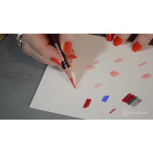 How to Sharpen a Colored Pencil and Create a Long Super Sharp Tip