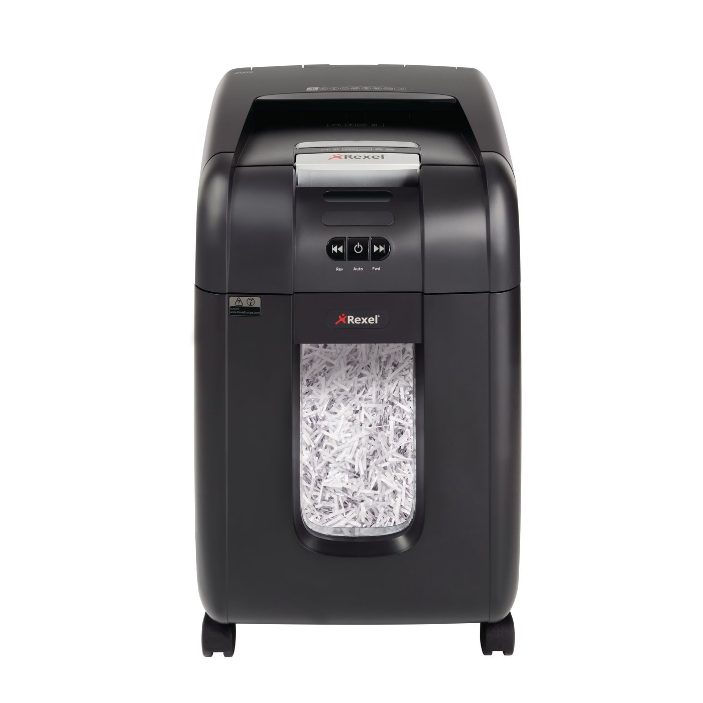 rexel products paper shredders auto feed shredders auto 200x cross cut shredder. Black Bedroom Furniture Sets. Home Design Ideas