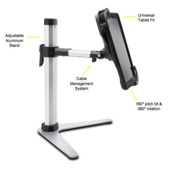 Sturdy, Adjustable Aluminum Stand