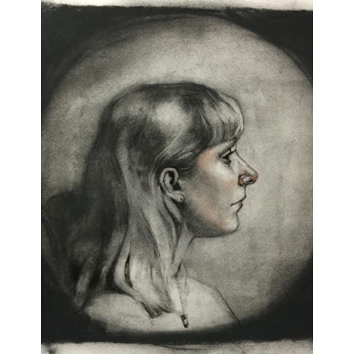 Woman's Portrait by Jake Spicer
