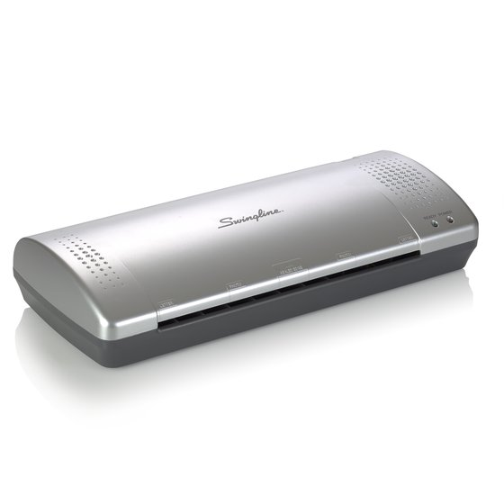 "Swingline Inspire Plus Thermal Pouch Laminator, 9"" Max Width, 4 Minute Warm-up, 3 -5 Mil, Silver/Gray"