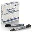 Quartet® Premium Glass Board Dry-Erase Markers, Bullet Tip, Black, 12 Pack