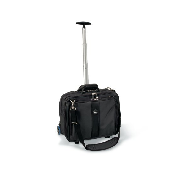 Trolley per notebook Contour™ (17''/43,2 cm) - Nero
