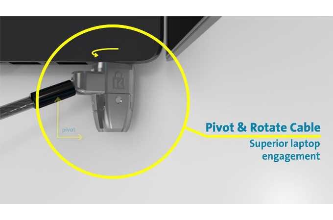 Kensington Security K64435WW Clicksafe 2.0 Keyed Laptop Lock