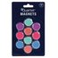 "Quartet® Round Magnets, 1"", Assorted Colors, 10 Pack"