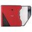 "Five Star 1 1/2"" Zipper Binder + Easy Access, 480 Sheet Capacity, Red/Gray, 13 1/4"" x 12 3/4"""