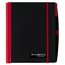 """Accents Ruled Notebook, 100 Sheets, 11"""" x 8 1/4"""", Red Color"""
