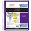 "Five Star Customizable Wirebound Notebook, 5 Subject, College Ruled, 11"" x 8 1/2"", Royal Purple"