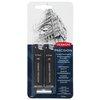 Derwent Precision Mechanical Pencil, Metal Barrel, 0.7 Refill Set