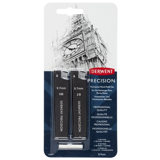 Precision Mechanical Pencil 0.7 Refill Set