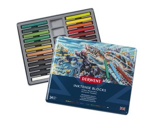 Inktense Blocks 24 Tin