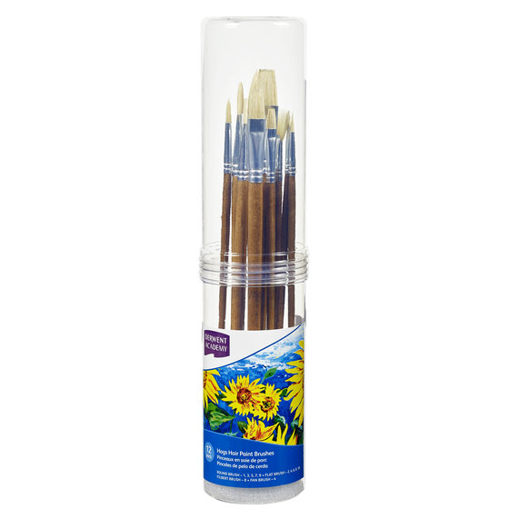 Hogs Hair Large Brush Set Cylinder 12 Pack