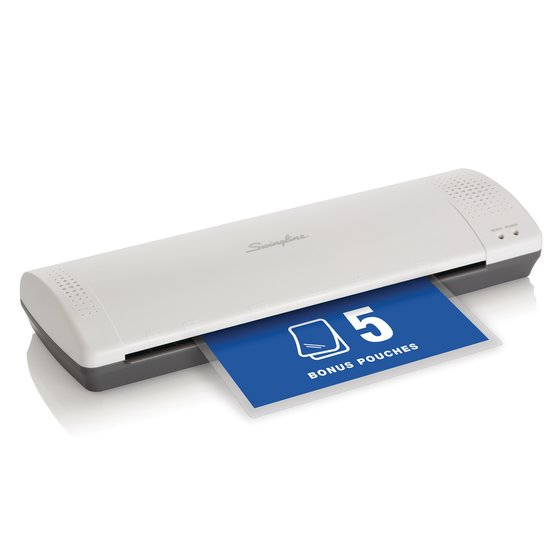 """Swingline® Inspire™ Plus Thermal Pouch Laminator, 12 1/2"""" Max Width, 5 Minute Warm-up, 3-5 Mil"""