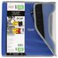 "Five Star 1 1/2"" Zipper Binder + Easy Access, 480 Sheet Capacity, Cobalt Blue/Black, 13 1/4"" x 12 3/4"""
