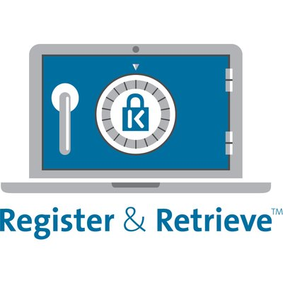 register and retrieve lock management