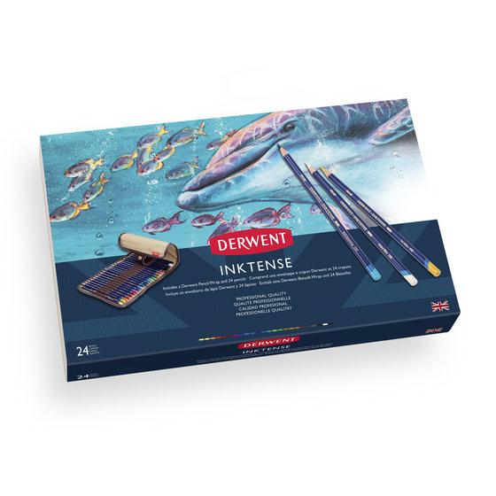 Inktense Pencil 24 Wrap Set