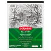"""Derwent Academy Heavyweight Drawing Paper Pad, 40 Sheets, 9"""" x 12"""""""