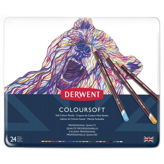Coloursoft Pencils 24 Tin