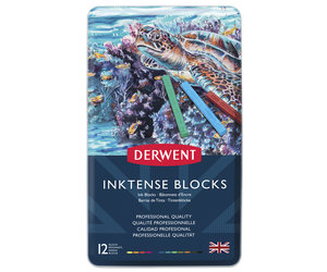 Inktense Blocks 12 Tin