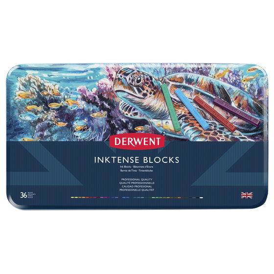 Inktense Blocks 36 Tin