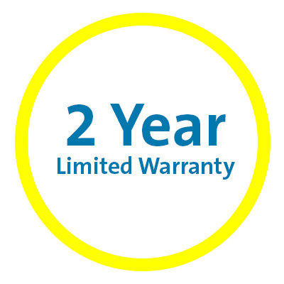 2-Year Limited Lifetime Warranty