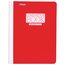"Mead Plastic Composition Book, College Ruled, 70 Sheets, 9 3/4"" x 7 1/2"", Red"