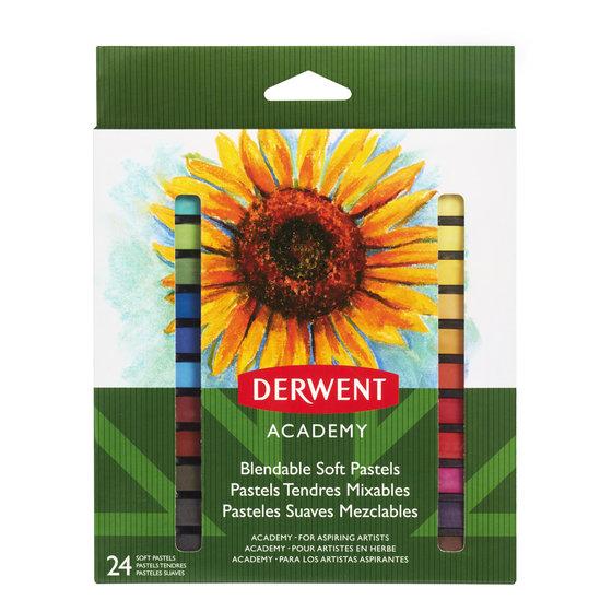 Derwent Academy Soft Pastels Pack 24