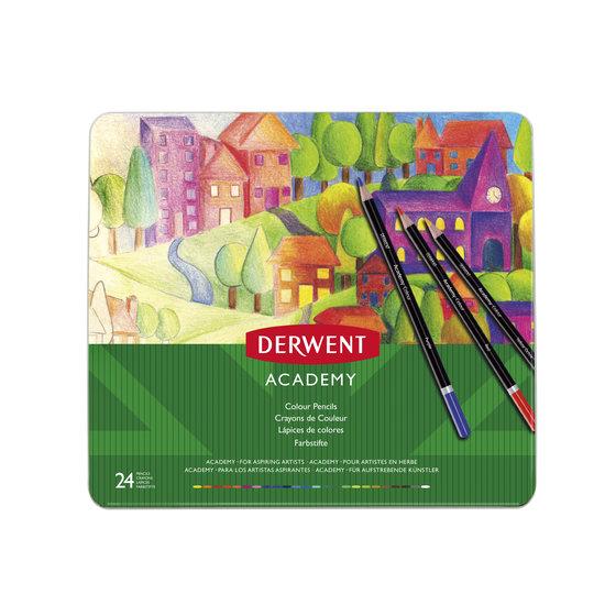 Academy Colouring 24 Tin