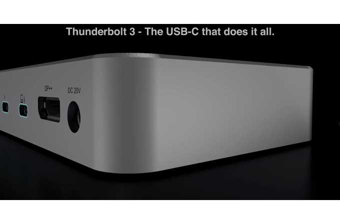 SD5200T Thunderbolt 3 40Gbps Dual 4K Docking Station with 170W adapter -  Windows and Mac
