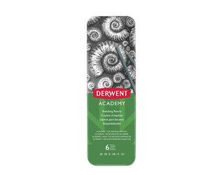 Derwent Academy Sketching 6 Tin