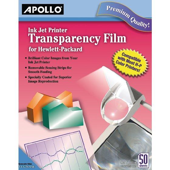 Apollo® Ink Jet Printer Films