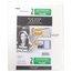 Five Star Customizable Pocket and Prong Plastic Folder, White