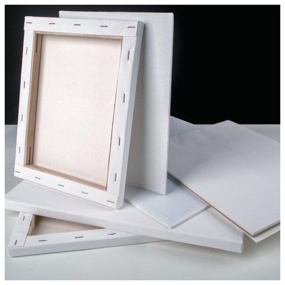 """Derwent Academy Stretched Canvas, 8"""" x 10"""", 2 Pack"""