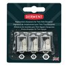 Derwent Replacement Sharpeners, Battery Operated, Twin Hole, 3 Count