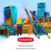 Derwent Procolour Pencils, Metal Tin, 24 Count