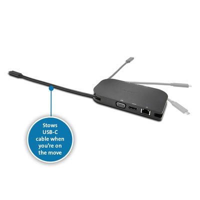 Cavo USB-C retrattile da 8 pollici